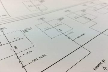 electrical riser one line drawings